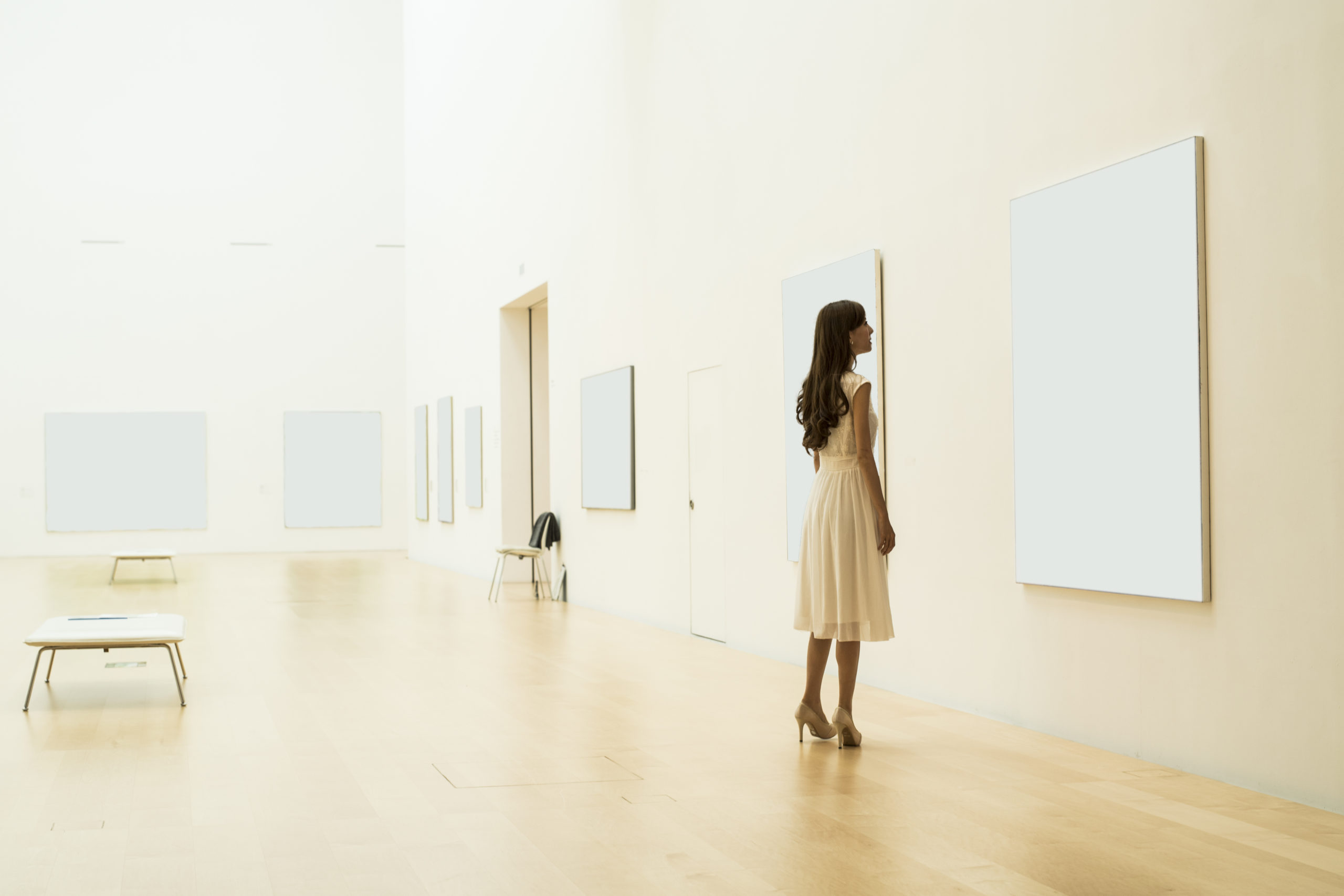 Einstündige Reflexion mit Kunst